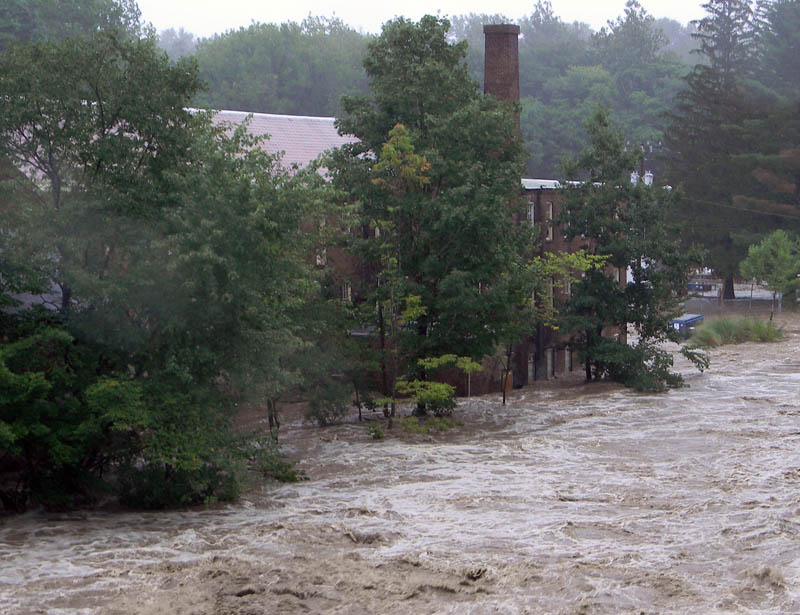 MOIH flooded by Hurricane Irene